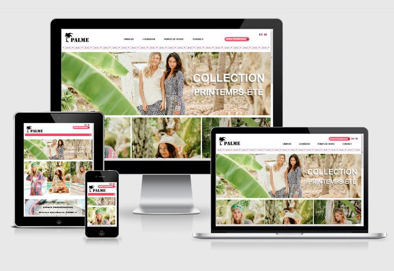 Site E-commerce | Atoll-Palm