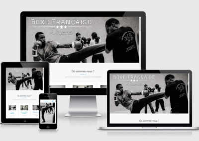 Site vitrine | Boxing club Vincennes