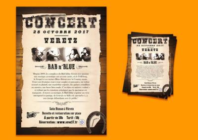 Affiche | Concert Bab n'Blue