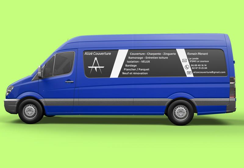 Flocage véhicule | Damienweb | graphiste freelance proche de Tours