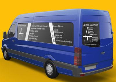Flocage camion | Conception graphique à Véretz Touraine (37)