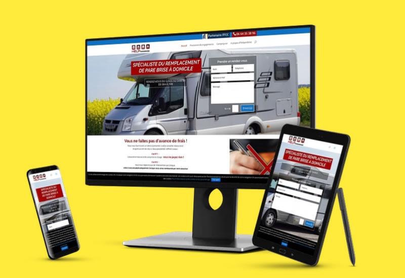 Site vitrine | Conception diigtale | webdesigner freelance en Touraine