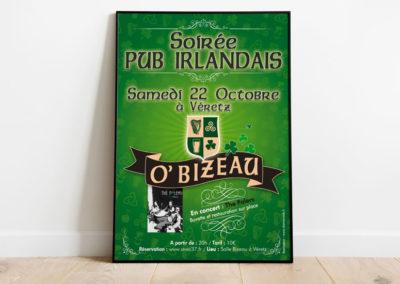 Conception d'affiches d'évènements | DamienWeb.fr