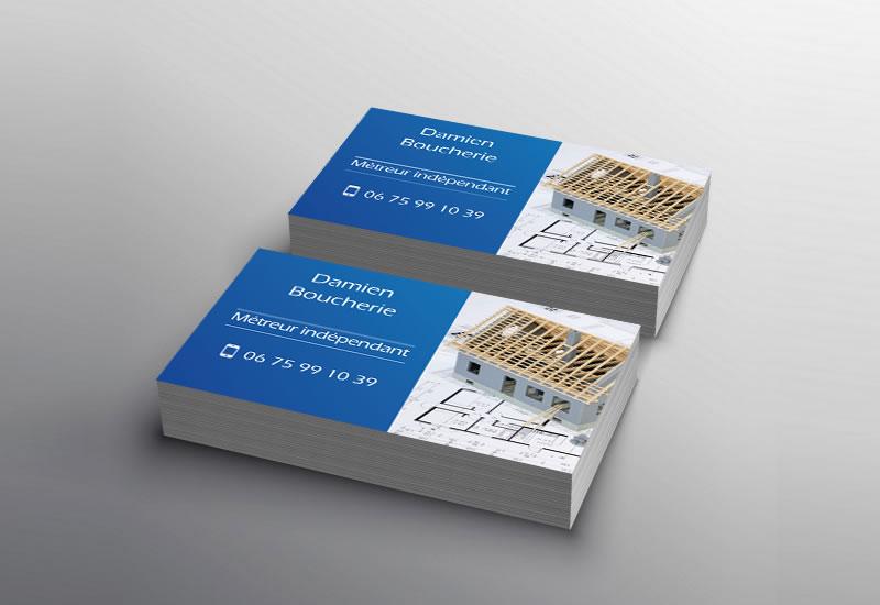 Création de cartes de visite | graphiste en Touraine (37) | DamienWeb.fr
