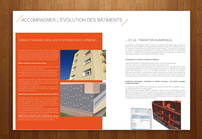 Conception de plaquette promotionnelle | Création graphique | DamienWeb.fr