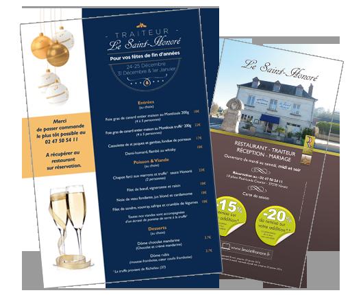Creation menu restaurant | graphiste (37) | DamienWeb