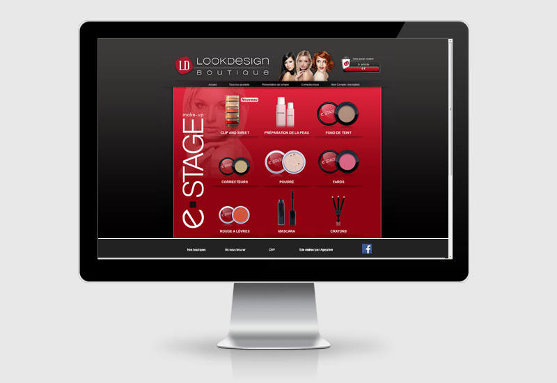 site web look design